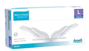 Ansell Extra Protection Nitrile Exam Gloves
