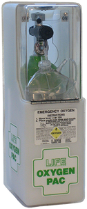 LIFE OxygenPac Emergency Oxygen Kit LIFE-025 Variable Flow-Only for Trained EMTs