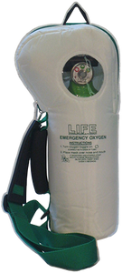 LIFE SoftPac Lightweight Portable Emergency Oxygen Kit LIFE-2-025 Variable Flow-Only for Trained EMTs