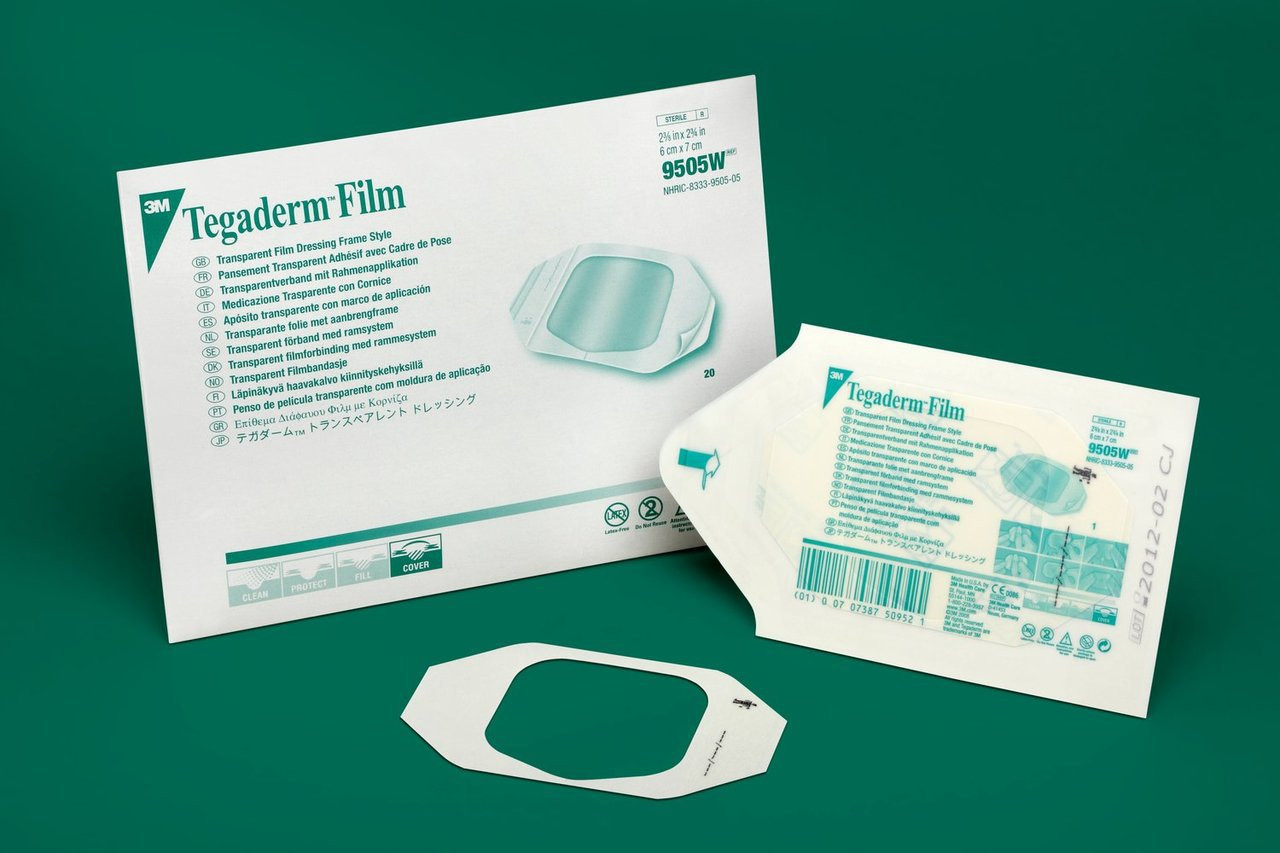 3m Tegaderm Film Dressing Picture Frame Style Usa