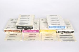 Aspen Surgical/Bard-Parker SafetyLock Non-Sterile Rib-Back Carbon Steel Surgical Blades