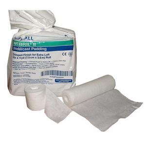 Webril II 100% Cotton Undercast Padding