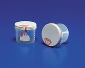 Covidien Precision Specimen Containers 1.5 oz Sterile Metal Lid with Seal 2210SA
