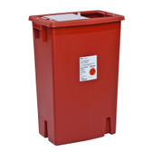 SharpSafety Large Volume Sharps Container-Sliding Lid