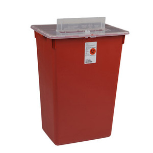 Sharps-A-Gator Large Volume Sharps Containers with Split Lid