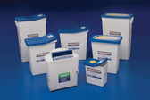 Covidien SharpSafety Pharmaceutical Waste Container 2 Gal Hinged Lid 8820