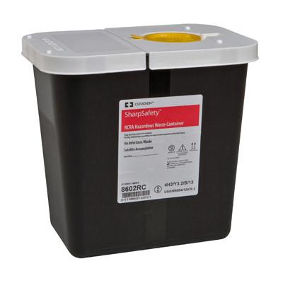 Covidien RCRA Hazardous Waste Containers