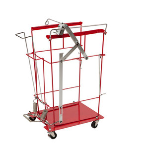 Covidien SharpSafety Foot Pedal Cart for 12 & 18 Gal Hinged Sharps Containers 8991FP