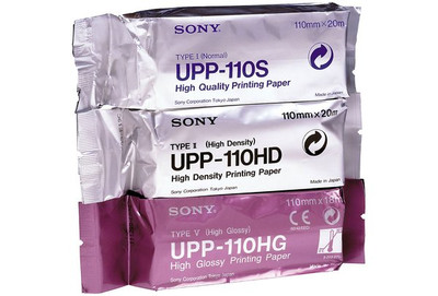 Sony Black & White Ultrasound Film UPP-110HG