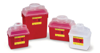 BD Multi-Use Nestable Sharps Containers