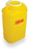 BD Chemotherapy Sharps Container 5 Gal Hinge Cap