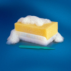 BD E-Z Scrub Impregnated Preoperative Scrub Brush 1% Povidone Iodine