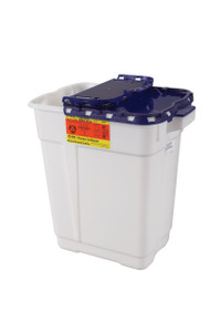 BD Pharmaceutical Sharps Container 9 Gallon