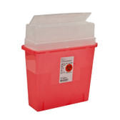 Covidien In-Room Sharps Containers Tortuous Path Lid 5 Qt 31144010