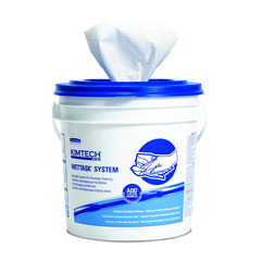 Kimtech WetTask Wipers For Bleach Disinfectants/Sanitizers