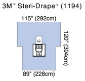 3M Steri-Drape Arthroscopy Surgical Sheet with Pouch 1194