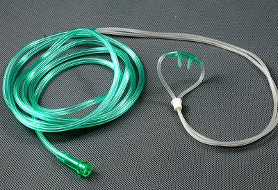 Adult Nasal Oxygen Cannula Curved Flared