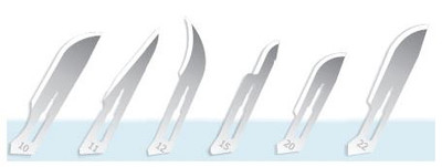 Exel Stainless Steel Surgical Blades Sterile