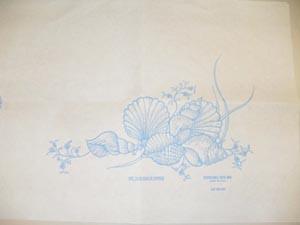 """Tidi Bath Mats with Shell Print 14.5""""x20.5"""" 950255"""
