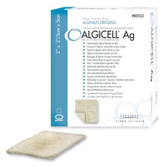 Derma Sciences ALGICELL Ag Calcium Alginate Wound Dressing Antimicrobial Silver Box