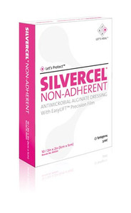 SILVERCEL Antimicrobial Alginate Wound Dressing-Non-Adherent
