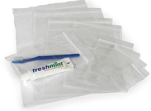 Reclosable Clear Bags