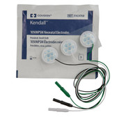 Covidien Neonatal Cloth ECG Electrodes Pre-Wired 1050NPSM