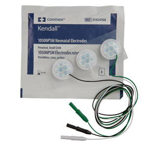 Neonatal Cloth ECG Electrodes Pre-Wired 1050NPSM