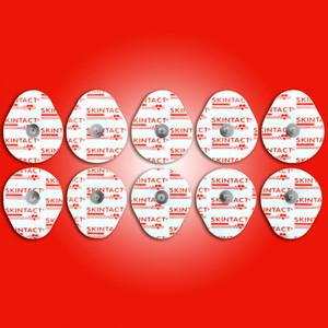 Skintact Foam Solid Gel ECG Electrodes Oval FS-TC1/10