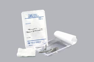 Staple Removal Kit with Gauze