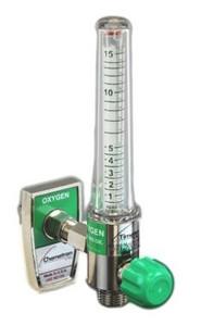 Timeter Oxygen Flowmeter Sure Grip 15 lpm