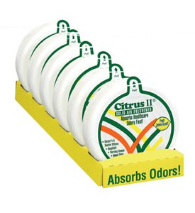 Citrus II Solid Air Freshener Lemon Scent