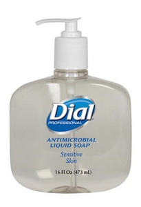Dial Antimicrobial Liquid Hand Soap Sensitive Skin