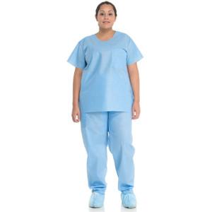 Halyard Health Scrub Pants Blue