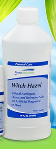 Witch Hazel Natural Astringent and Skin Cleanser