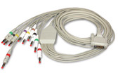 Schiller 10-Lead ECG Resting Patient Cable for CARDIOVIT AT-1, AT-2