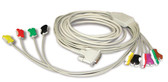 Schiller 10-Lead ECG Stress Patient Cable 2.400116S