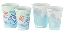 Medicom Disposable Paper Cups Biodegradable