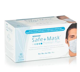 Medicom Medical Mask Premier Plus Earloop Face Mask ASTM 2