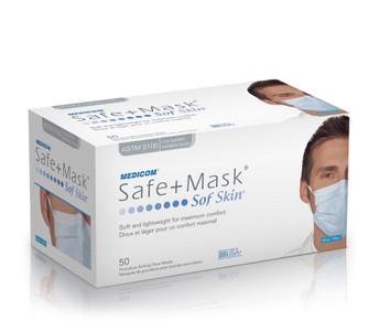 Medicom Medical Mask SafeMask Sof Skin Earloop Face Mask