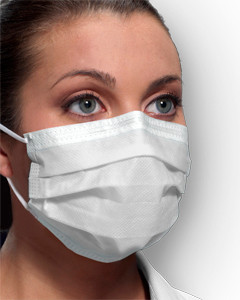 Crosstex Medical Mask Ultra Sensitive Fog Free Earloop GCFCXSF