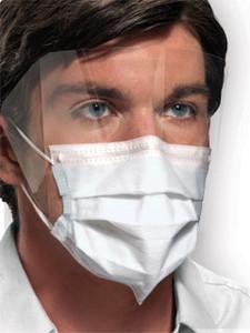 Crosstex Medical Mask Ultra Sensitive Fog Free Earloop Shield SecureFit Technology