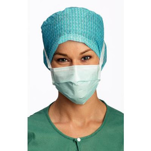 Surgical Mask Anti-Fog Mask with Ties Blue