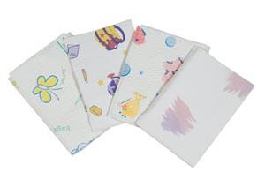 TIDI Tissue/Poly Towel 2-Ply in Pediatric Prints