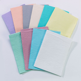 "TIDI Tissue/Poly Towel 3-Ply 13"" x 18"""