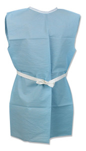"TIDI Patient Gowns 36""x44"" 2-XL 2-Ply Scrim-Reinforced Tissue"