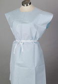 "TIDI Patient Gowns Choice 30""x42"" Tissue/Poly/Tissue with Opening"