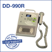 Vascular Doppler Ultrasound DigiDop II 990R Table Top Doppler