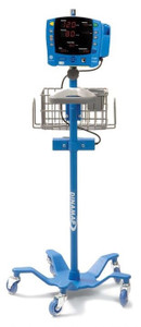 GE CARESCAPE V100 Patient Monitor Rolling Stand