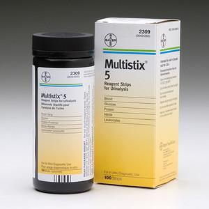 Siemens Multistix 5 Reagent Strips 2309